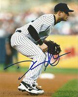 DAVID ADAMS NY NEW YORK YANKEES SIGNED AUTOGRAPHED 8X10 PHOTO W/COA