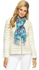 NWT Lilly Pulitzer Lilah Reversible Jacket Cameo White I'm Game sz Small $238