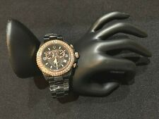 NWOT VICTORY Signature ISASWISS Chronograph Watch Ceramic Bracelet MSRP $515