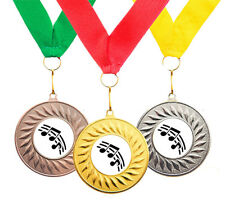 10 x Music School Award Achievement Medals + Ribbons High Quality Free Delivery