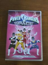 Power Rangers In Space The Complete Season 5-disc Dvd Set Pre-owned VG+ Rare Oop