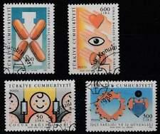 Turkije gestempeld 1988 used 2810-2813 - Gezondheid (4)