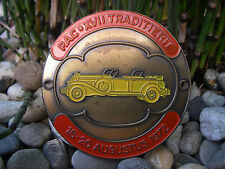 PAC - PIONIER AUTOMOBIELEN CLUB TRADITIERIT 1972 Car Club Badge Plakette Holland