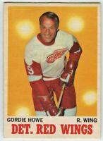 1970-71 O-Pee-Chee #29 Gordie Howe EX - SET BREAK (112919-23)