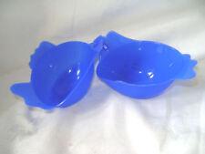 Espátulas, espumaderas y pinzas de cocina color principal azul