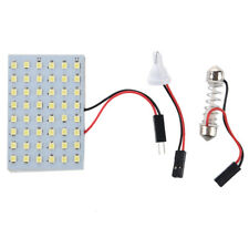 5 x 48 Blanco SMD LED panel 12V + T10 / BA9S Base de adorno + modulo G8X3