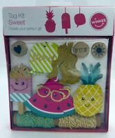 Kit d'étiquettes Fruité de Winkee pour loisirs créatifs