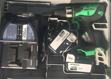 Hitachi Cordless Drill Ds 14DSL 14,4v 4Ah with 2 Batteries Incl. Case