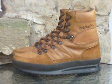 Vintage 1980s Adidas Trekking Boots UK10 Made In Yugoslavia OG 80s Winter Tan