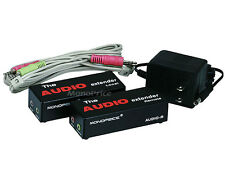 Audio Extender over CAT 5e cable upto 300 meter