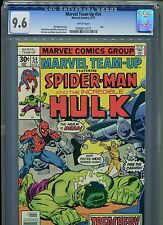 Marvel Team-Up #54 CGC 9.6 (1977) Spider-Man and Hulk John Byrne White Pages