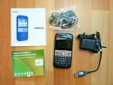 Nokia E5 mobile phone smartphone used