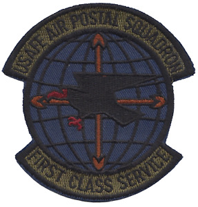 Air Postal Squadron United States air Force in Europe USAFE Embroidered Patch