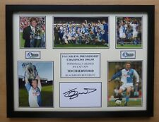1994-95 Blackburn Rovers Carling Premiership Champions Signed Display (15598)