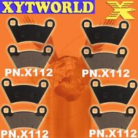 FRONT REAR Brake Pads for POLARIS SIDE X SIDE MODELS Ranger 6x6 2004 2005