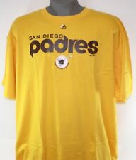 Mens Majestic MLB San Diego Padres Cooperstown Collection Baseball T-Shirt