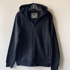 JORDAN CRAIG Legacy Edition Black ZIP UP Hoodie Sweatshirt Jacket Size Medium