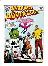 "STRANGE ADVENTURES  #166  [1964 GD+]  ""FOR SALE SUPER SPACE PETS"""
