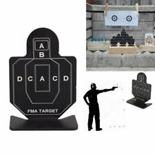 1PCS Outdoor Metal Airsoft Tactical Hunting Shooting Target Practice Accessories
