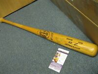 Nolan Ryan  Autographed Game used Issued M110 LS Baseball Bat JSA Cert