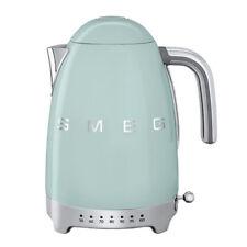 Hervidor SMEG KLF04PGEU 1,7L Selector temperatura Verde Agua
