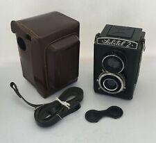 Lubitel-2 LOMO Lomography 6x6 cm twin lens medium format TLR film camera USSR