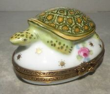 New Turtle And Roses, Limoges Box Number 41 New