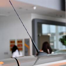 "16""Black Screw On AM/FM Radio Aerial Antenna Amplified Roof Mast Whip Fuba Style"