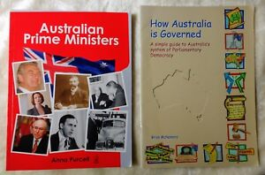 Australian Prime Ministers PLUS How Australia is governed ...2 Great books