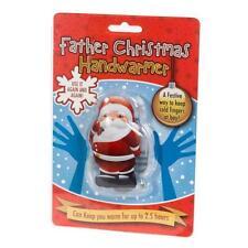 Father Christmas Santa Shaped Reusable Winter Gel Handwarmer