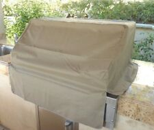 "Outdoor BBQ Island Built-in Gas Grill Head/Top Cover - Fits up to 30""  Taupe"