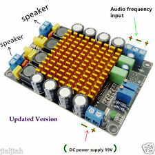 TK2050 50W+50W Dual Channel Class T HIFI Stereo Audio Amplifier Board DC12V 24V