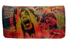 Tobacco Case Pouch Synthetic Leather Wallet Bag Rolling Smoke The Rolling Stones