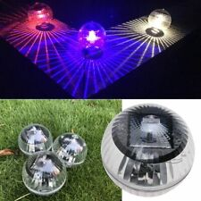 Solar Powered Floating Light Garden Swimming Pool Color Changing LED Lamp Decor