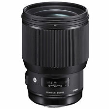 Sigma 85mm f/1.4 DG HSM Art Lens (for Canon) *NEW*