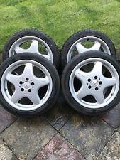 "Used Mercedes 17"" AMG Alloy Wheels R170 SLK CLK Set of 4"