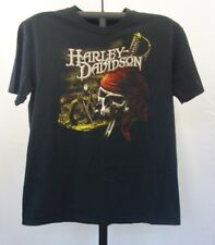 Harley Davidson Toronto Canada t-shirt black XL graphic pirate skull eagle 22