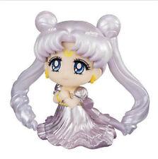 "Tsukino Usagi Sailor Moon Princess Serenity Wedding Dress Silver 2.16"" Figure NB"