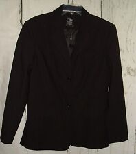 New Boutique Europa Black Fashion Blazer Jacket Steampunk Goth Size 10