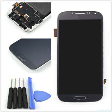 LCD Display Touch Screen Vetro Schermo Frame Per Samsung Galaxy S4 i9500 Blue