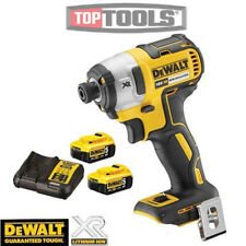 Dewalt DCF887 18V Brushless Impact Driver 3 Speed + 2 x 5ah Batteries & Charger