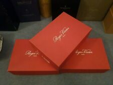 Roger Vivier empty shoe box with tissue paper and little booklet