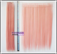 Milkshake Pink Hair Weft Extention (3 pieces) - 60cm High Temp - Cosplay 7_KPN