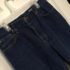 Eddie Bauer Outdoor Outfitters High Waist Classic 5 Pocket Jeans Med Wash Sz 10