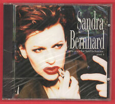 Sandra Bernhard Excuses for Bad Behavior Part 1 CD 1994 Epic BK57693 New/Sealed