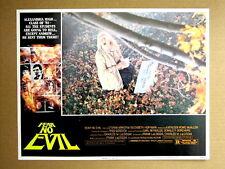 FEAR NO EVIL Vintage DEVIL LUCIFER HORROR Movie Lobby Card ELIZABETH HOFFMAN
