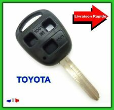Coque Télécommande Plip Bouton Clé 3 Boutons TOYOTA Avensis Corrola Verso