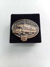 RoadWay 11 Safety Award Lapel Pin