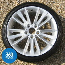 "GENUINE BMW 18"" 1 SERIES M SPORT 263 W SPOKE ALLOY WHEEL NEW TYRE 36116779794"