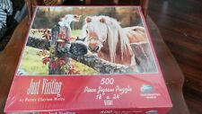 Just Visiting Persis Clayton Weirs Jigsaw Puzzle NEW Sealed 1998